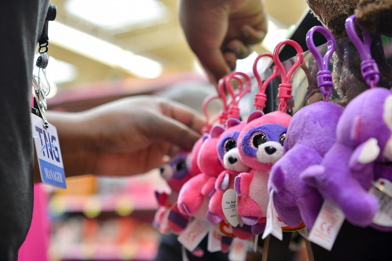 Merchandising Hot Toys at Retail